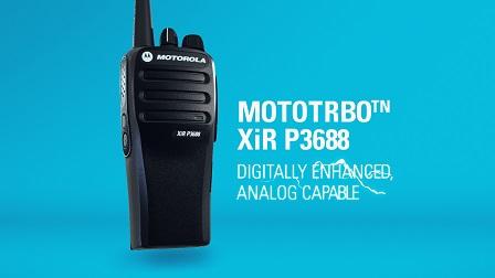 Sản phẩm bộ đàm thế hệ mới Motorola XiR P3688