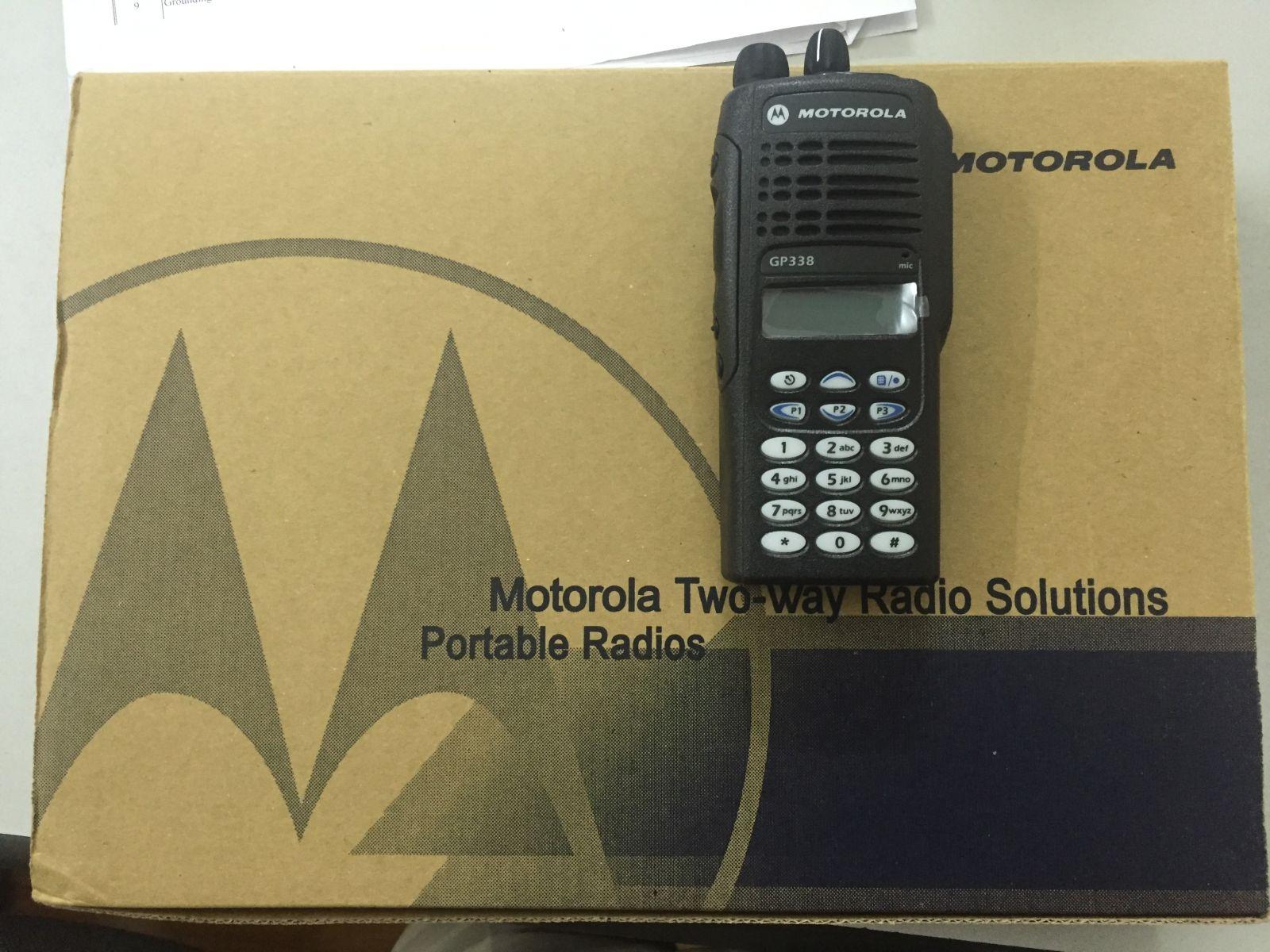 Motorola GP338 Giả/Nhái Trên Thị Trường