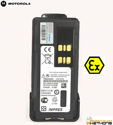 Pin chống cháy nổ bộ đàm Motorola XiR P6600i
